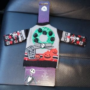 THE NIGHTMARE BEFORE CHRISTMAS BOTTLE SWEATER